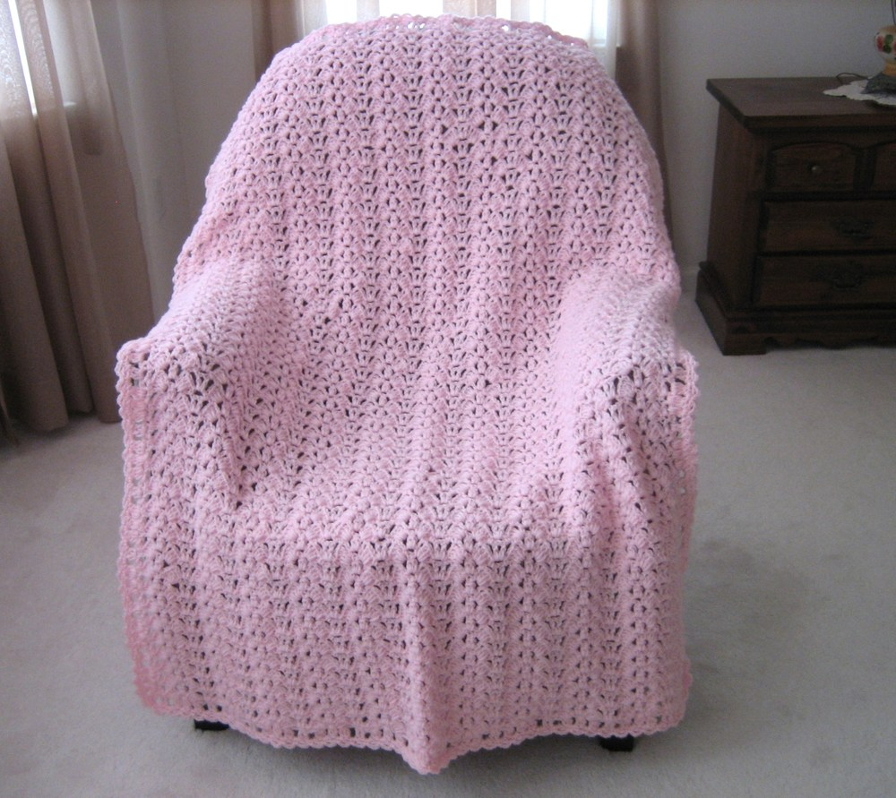 Butterfly Wings Free Crochet Afghan Pattern | FaveCrafts.com