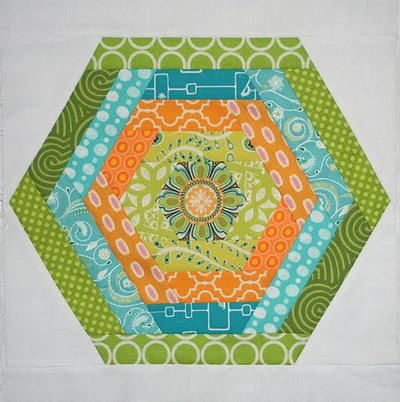 Hexing Around Block Favequilts Com
