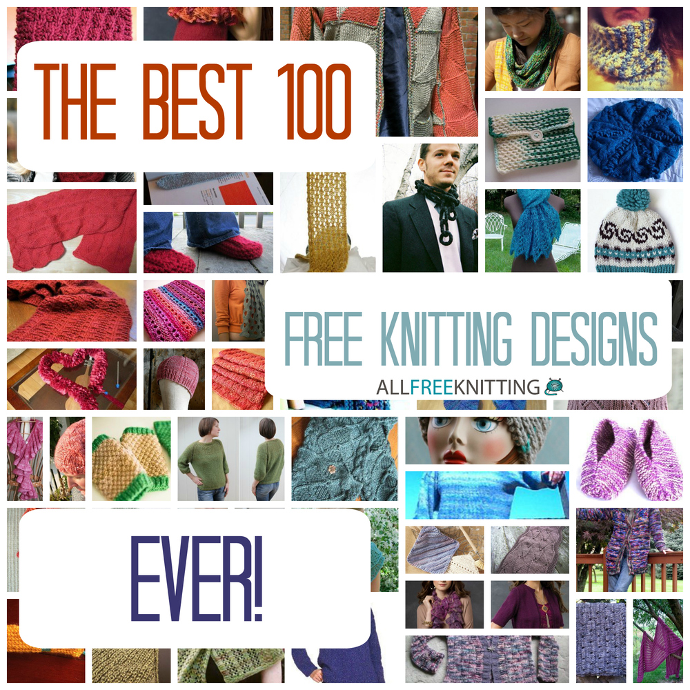 The Best 100 Free Knitting Designs Ever: Free Afghan Patterns, Knit ...