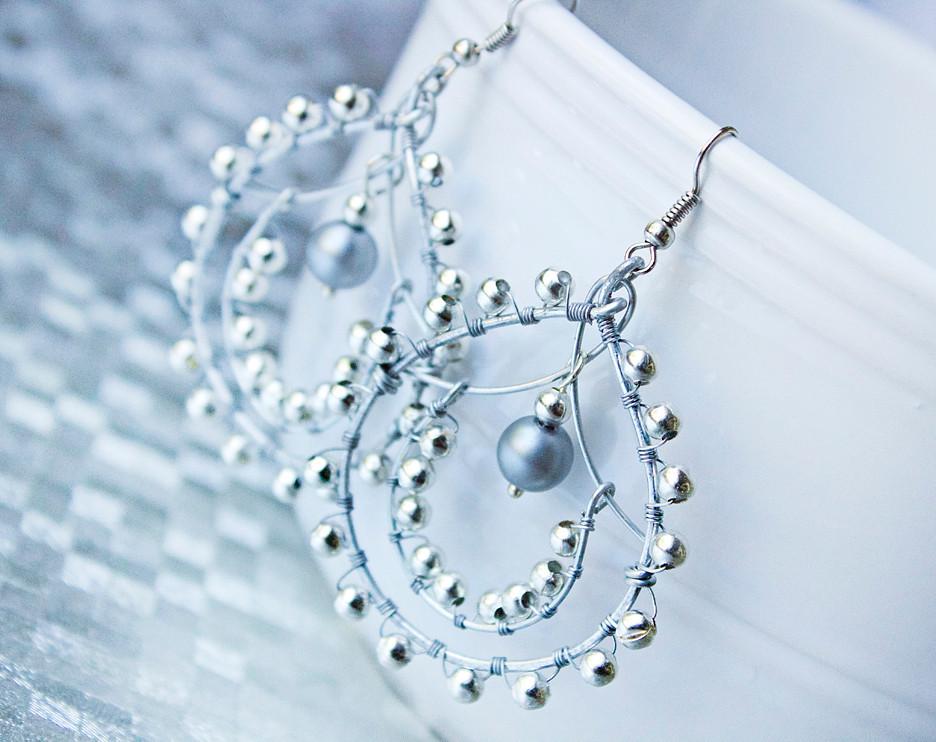 Indian-Style Beaded Earrings | AllFreeJewelryMaking.com
