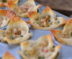 Baked Artichoke and Crab Rangoon Recipe