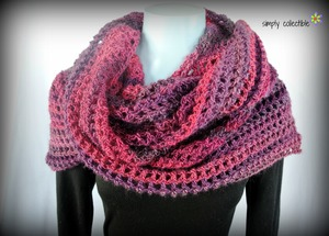Coraline in the Wine Country Crochet Shawl Pattern