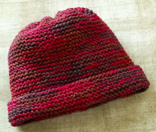 Grandmas Favorite Garter Stitch Hat