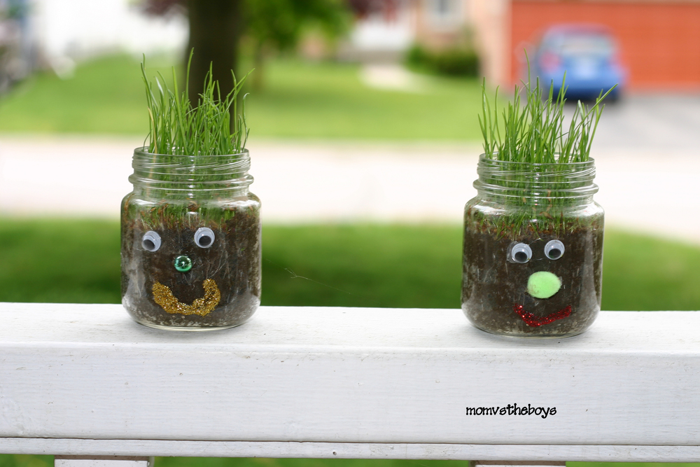 Mini Garden Earth Day Crafts | AllFreeHolidayCrafts.com