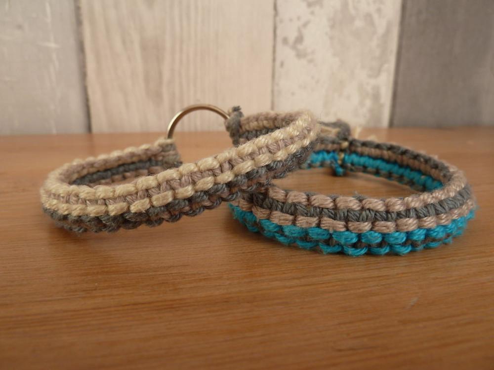 Double Macrame Bracelet Allfreejewelrymaking Com