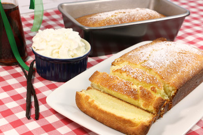 Homemade Whipped Cream Pound Cake