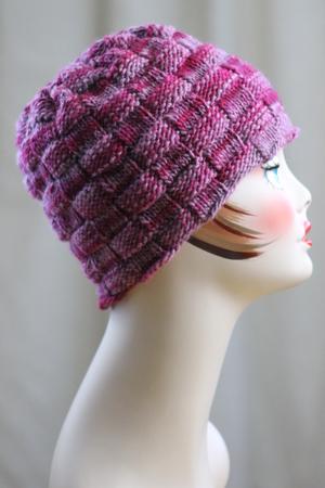 Beauty Of A Basketweave Hat Allfreeknitting