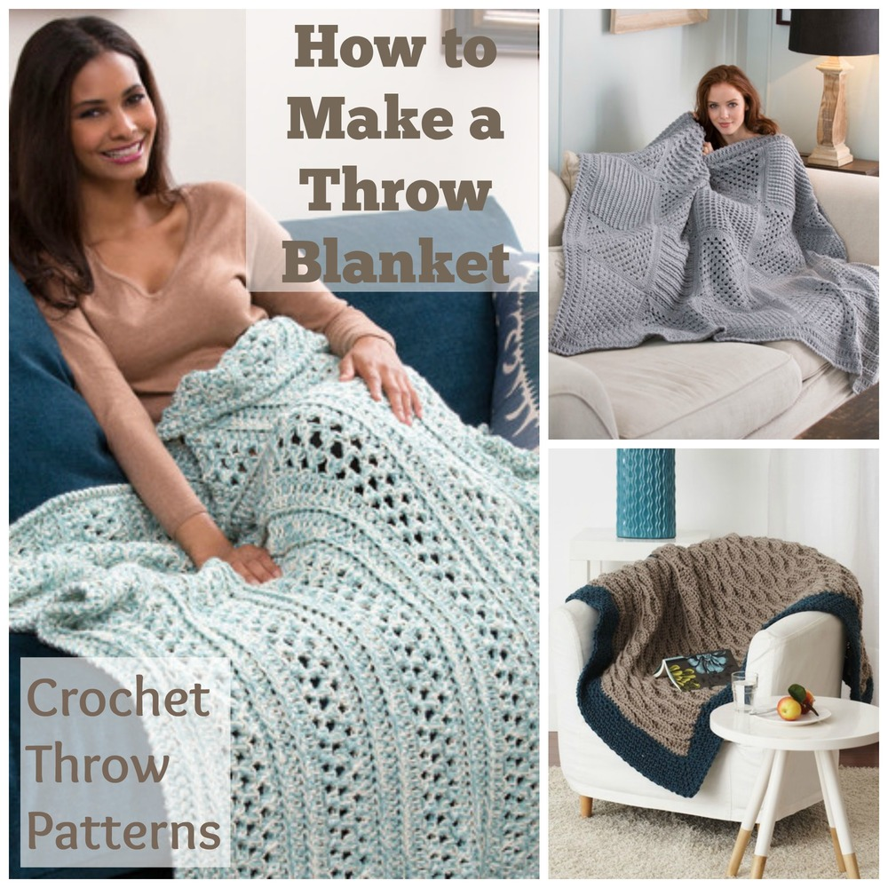 how to make a throw blanket 23 crochet throw patterns