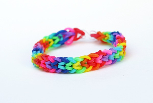 Fast Fishtail Rainbow Loom Bracelet