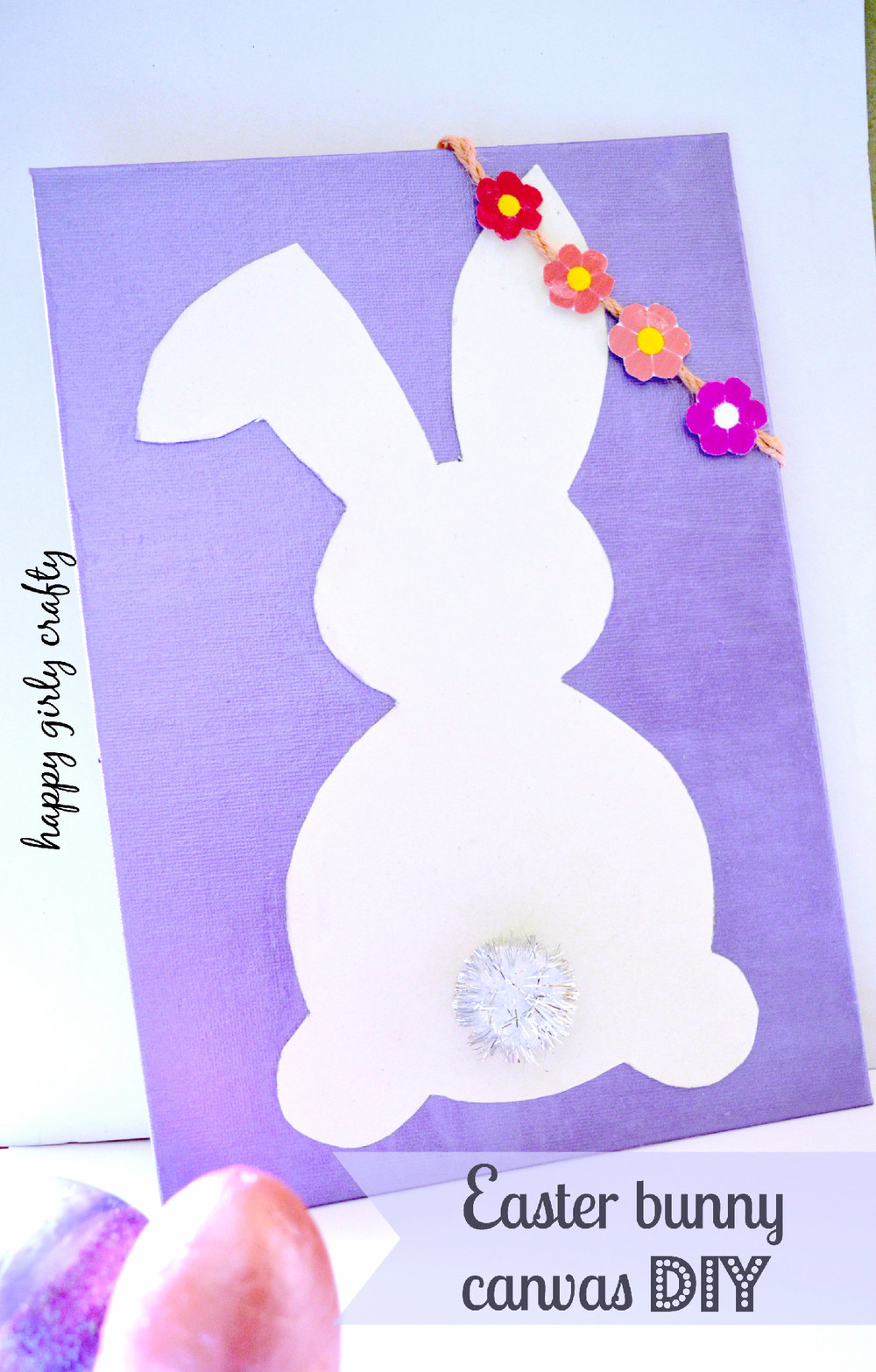 Easter Bunny Canvas FaveCrafts