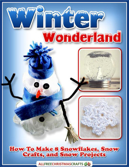 Winter Wonderland How to Make 8 Snowflakes Snow Crafts and Snow Projects free eBook