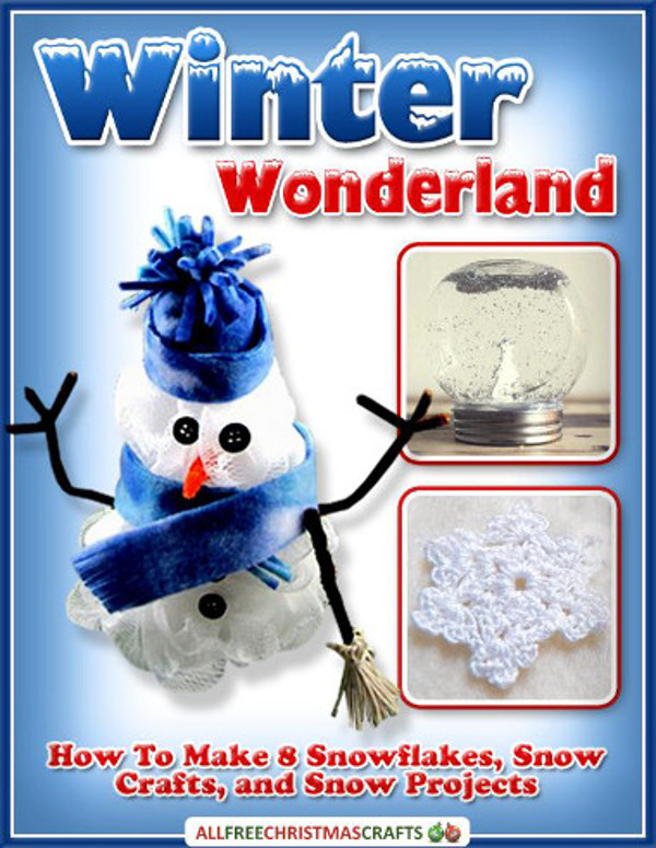 Winter wonderland how to make 8 snowflakes snow crafts for All free holiday crafts