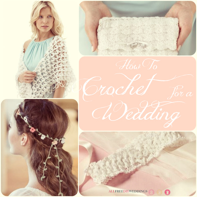 60+ Free Crochet Patterns: How to Crochet for a Wedding ...