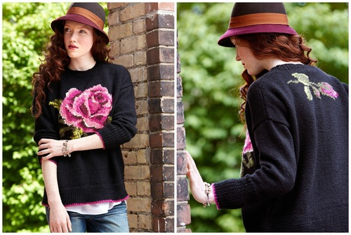 In Bloom Knit Pullover