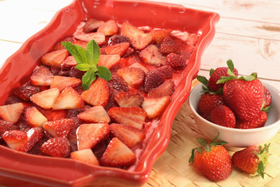 Sensational Strawberry Pretzel Salad