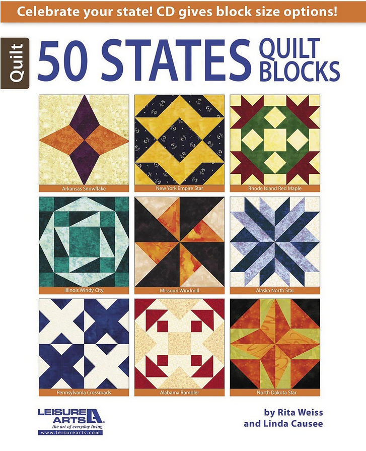 50 States Quilt Blocks Favequilts Com