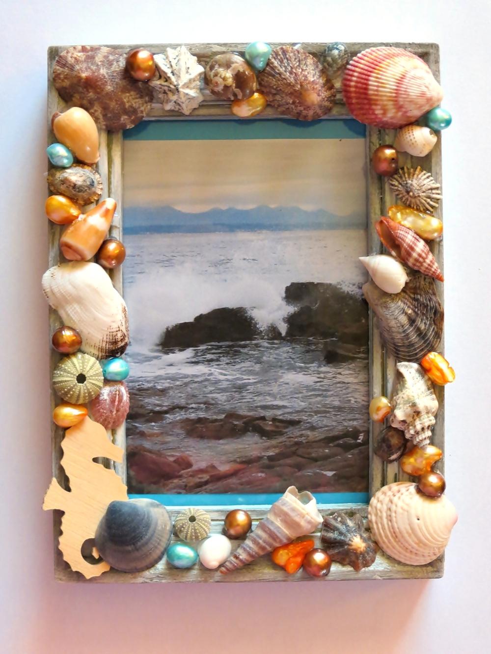 Super Seashells Picture Frame Craft Favecraftscom