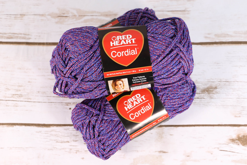Red Heart Cordial Yarn | AllFreeCrochet.com