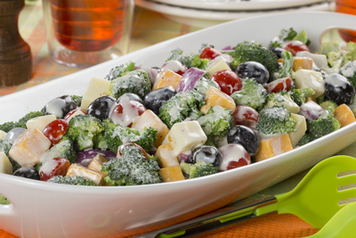 Broccoli and Cheese Salad
