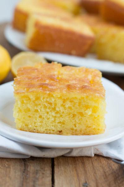 Lovely Lemon Jello Cake Recipe Thebestdessertrecipes Com