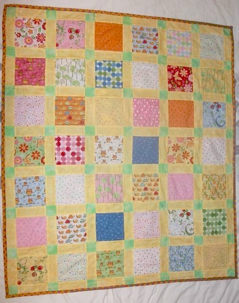 Speedy Charm Pack Baby Quilt Pattern Favequilts Com
