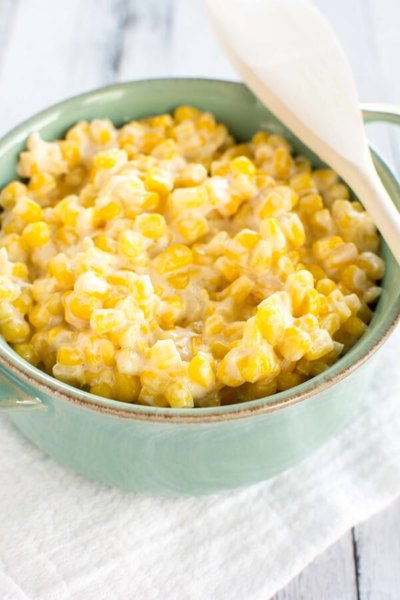 4-Ingredient Cream Cheese Corn