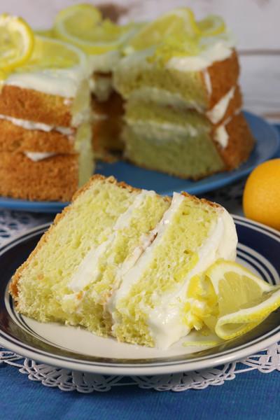 Copycat Olive Garden Lemon Cake