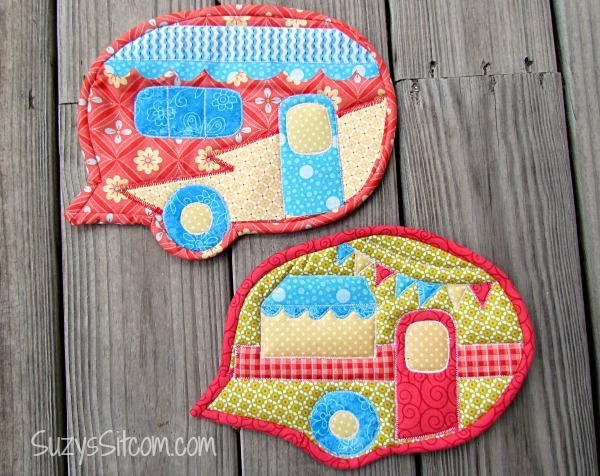 Caravan Pot Holder Pattern Favequilts Com