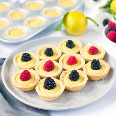 Lemon Crud Tartlets