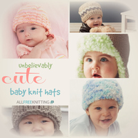 31 Unbelievably Cute Baby Knit Hats
