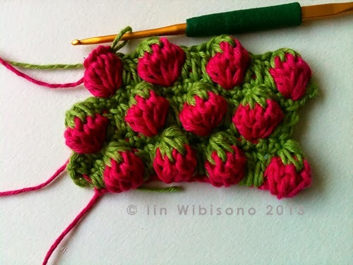 Strawberry Stitches Free Crochet Tutorial