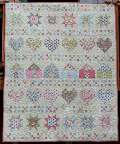 All In A Row Free Quilt Pattern Favequilts