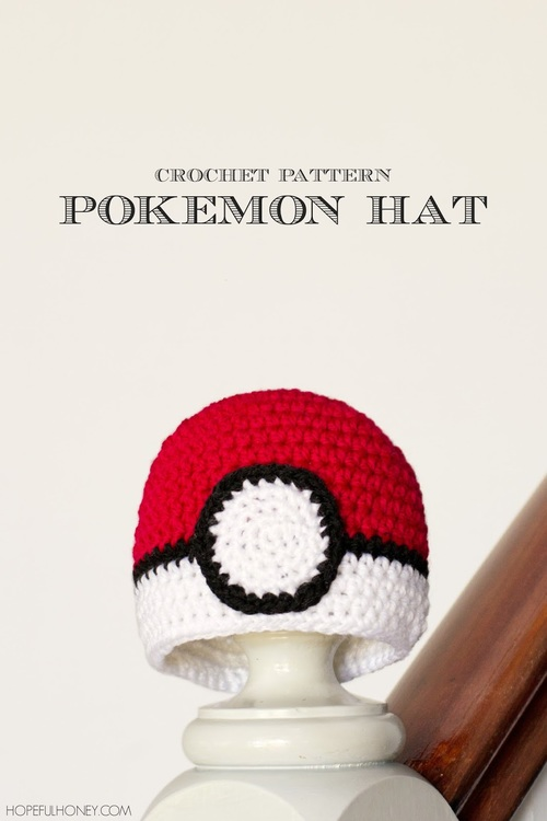 Baby Pokeball Crochet Hat Pattern Favecrafts