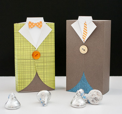 Mens Suit DIY Gift Box