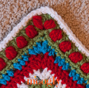 Polka Dot Crochet Edging