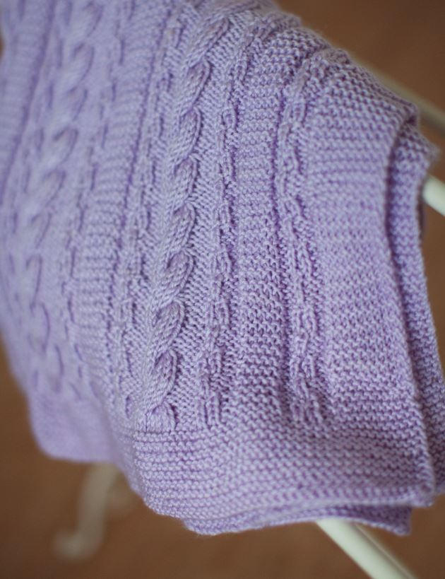 Dusty Lavender Cable Blanket 2 Extralarge700 Id 974186 Jpg V 974186