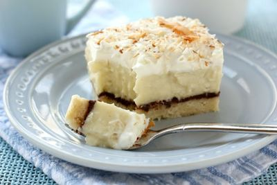 Heavenly Coconut Cream Pie Bars