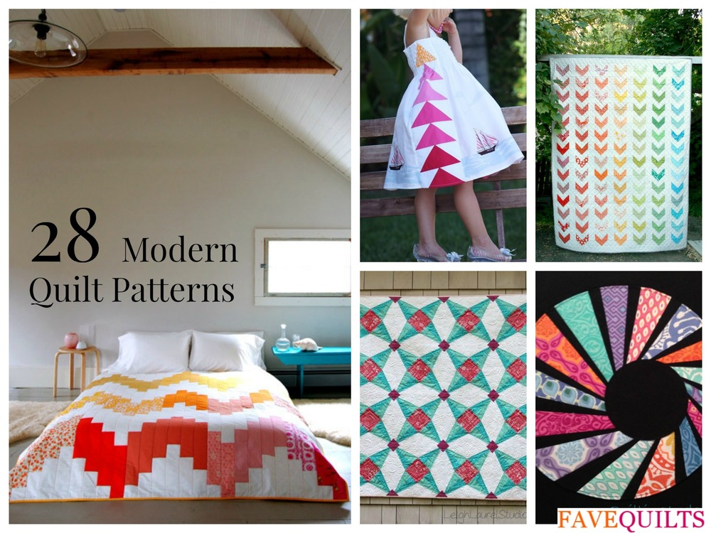 28 Modern Quilt Patterns And Ideas
