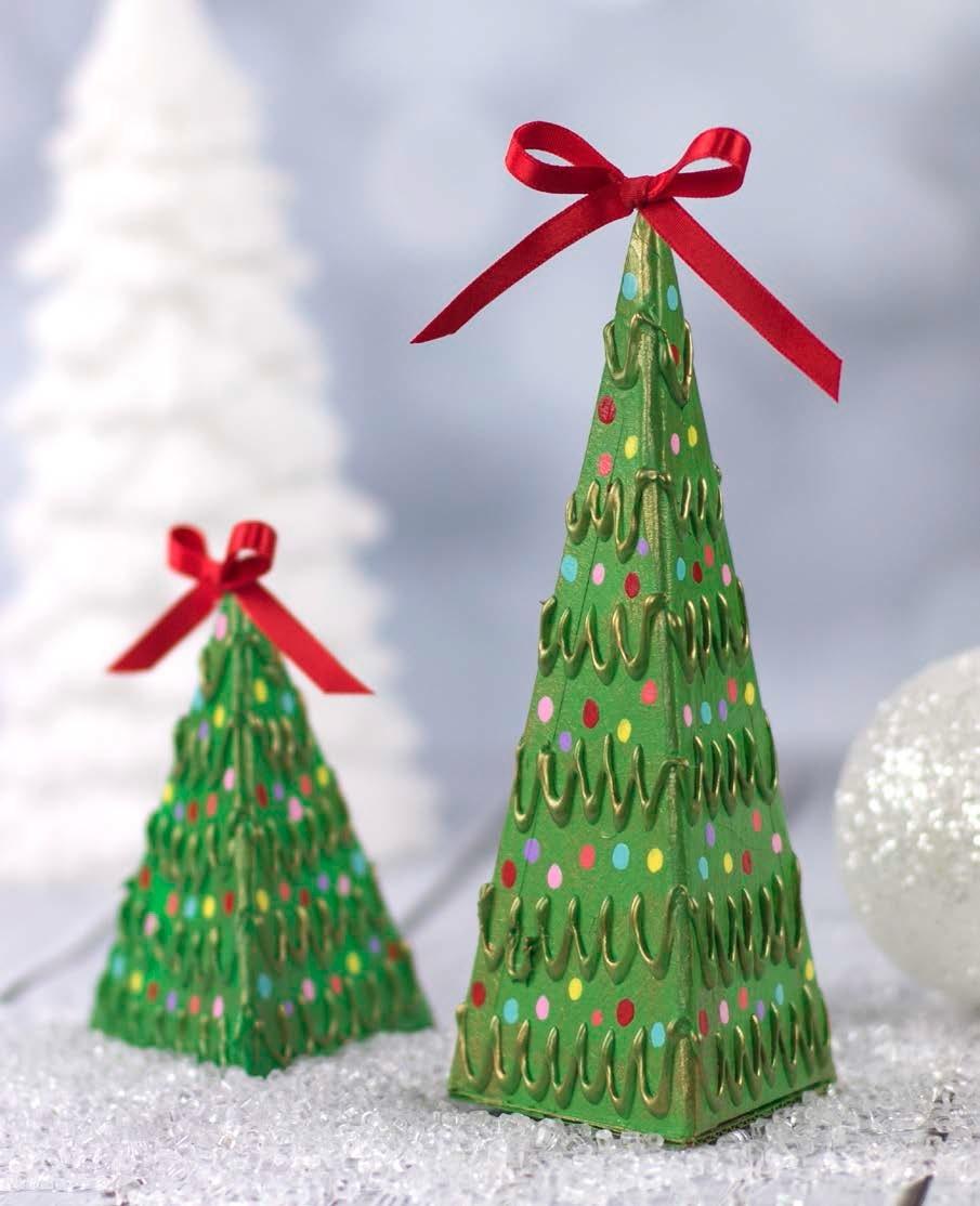 cardboard christmas tree favecraftscom - Large Cardboard Christmas Decorations