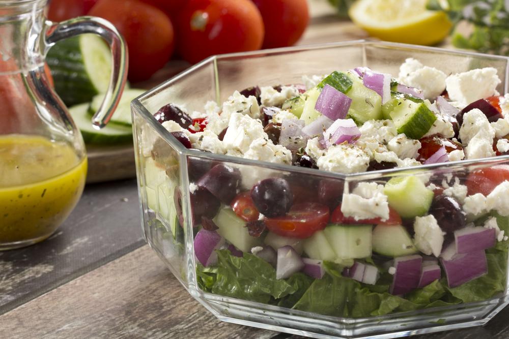 the ultimate greek layered salad mrfood com