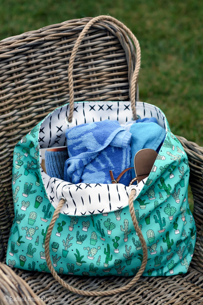 Canvas Beach DIY Tote Pattern