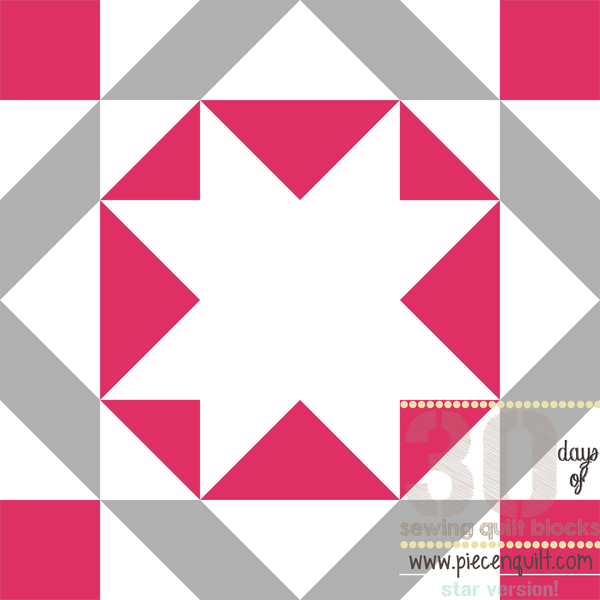 Union Star Block Pattern