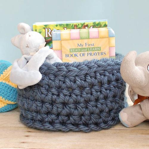 Super Bulky Crochet Basket Pattern Favecrafts