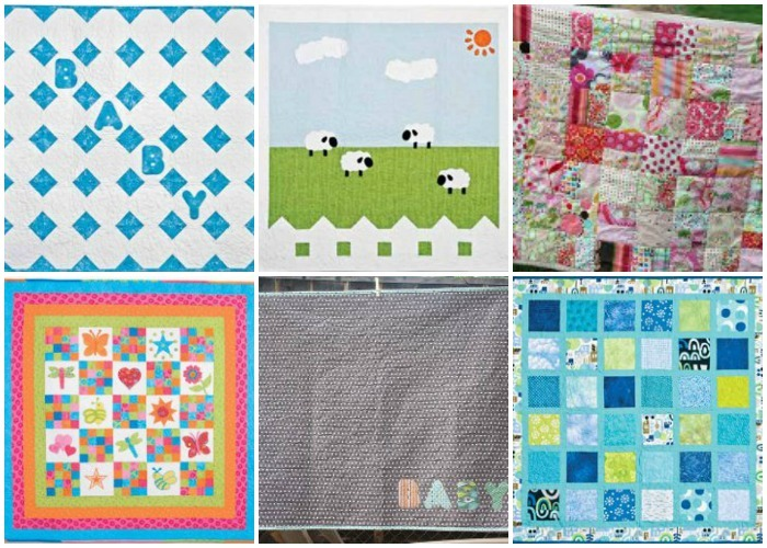 60 Easy Baby Quilt Patterns For Boys And Girls FaveQuilts Beauteous Easy Baby Quilt Patterns