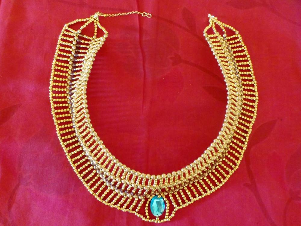 Elegant Egyptian Diy Necklace Allfreejewelrymaking Com