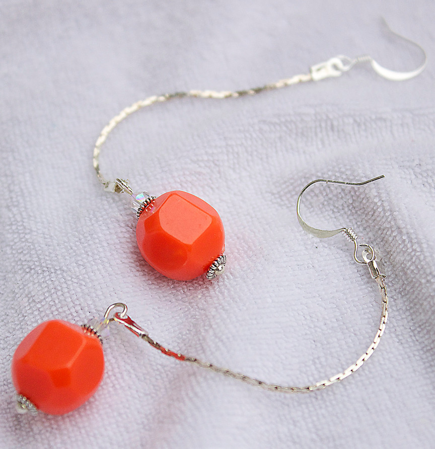 10 DIY Earrings: Chain Earrings, Metal Earrings, Wire Earrings ...