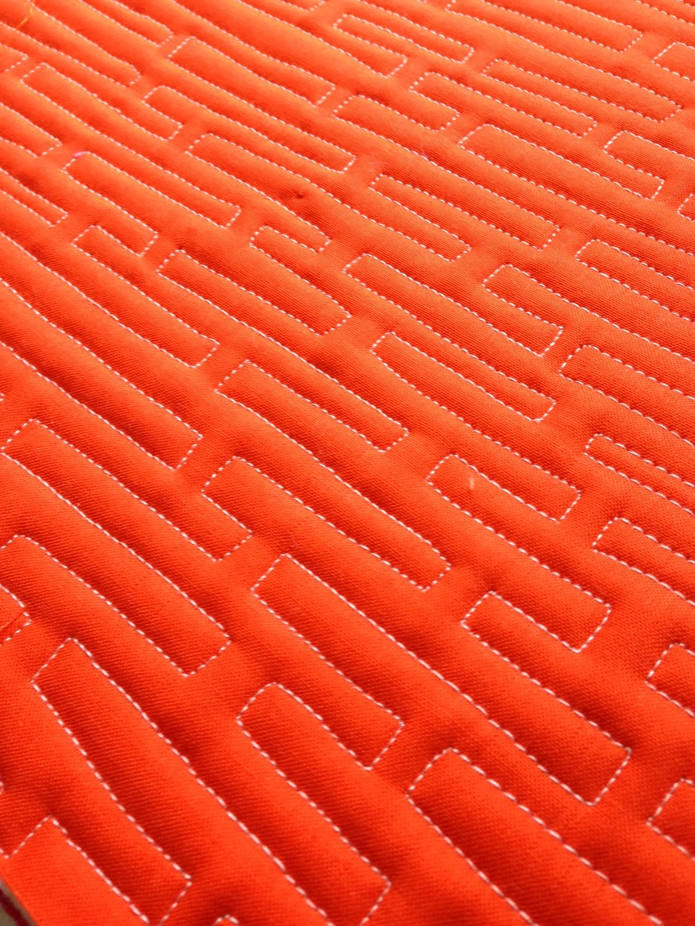 Planks Free Motion Quilting Design