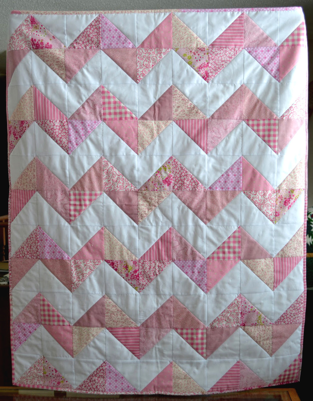 20 Easy Chevron Quilt Patterns Favequilts