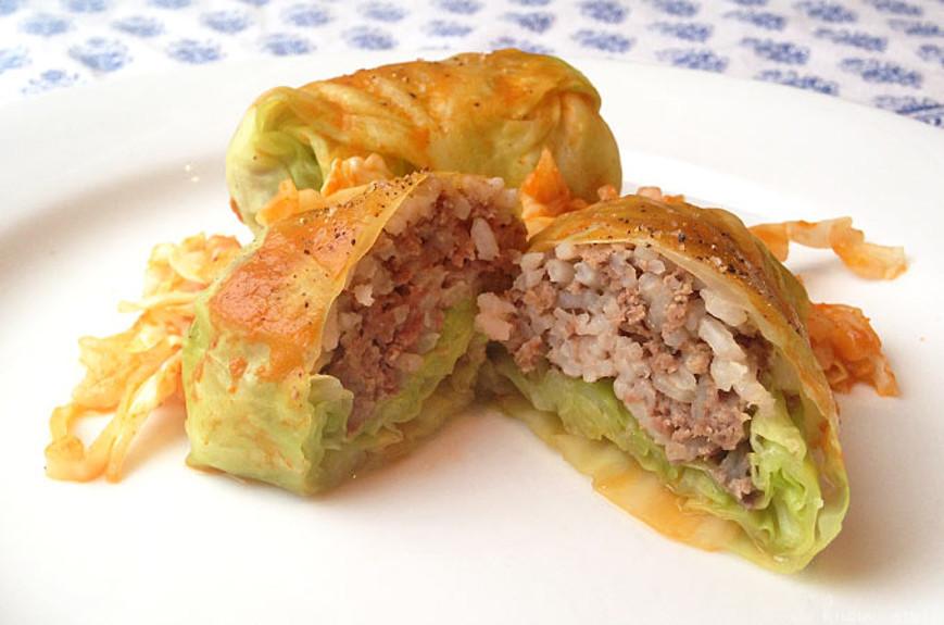 Simple Stuffed Cabbage Rolls Recipelion Com