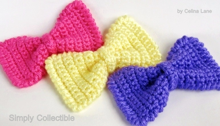 Sassy Crochet Bow Pattern Favecrafts